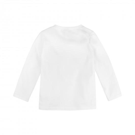 T-krekls ar uzrakstu mazai meitenei, balta