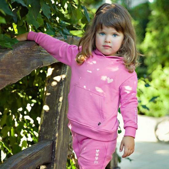 Džemperis mazai meitenei, rozā