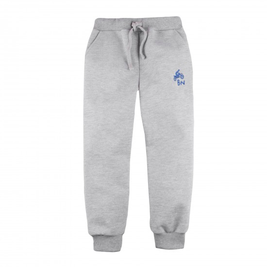 Pants Basic for boy, gray