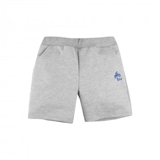 Shorts Basic for boy, gray