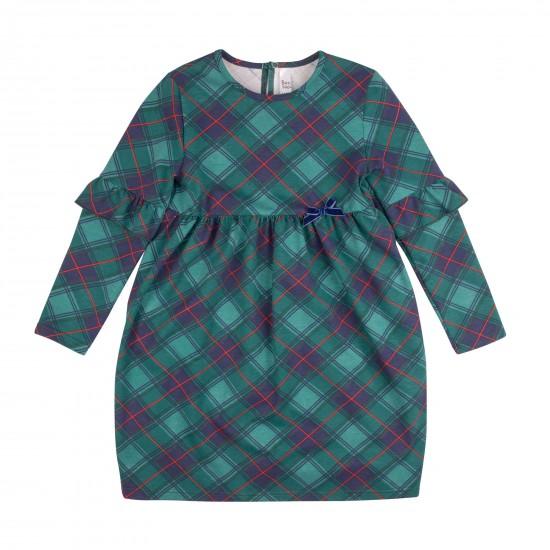 Kleita Serenada šaurināts stils, zaļa