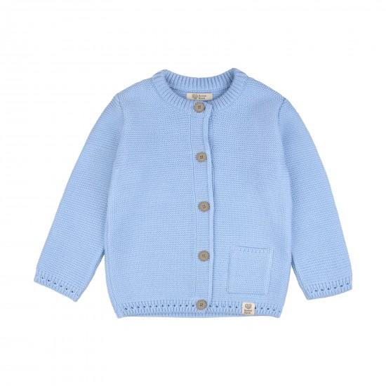 Adīta jaka zīdainim, zila