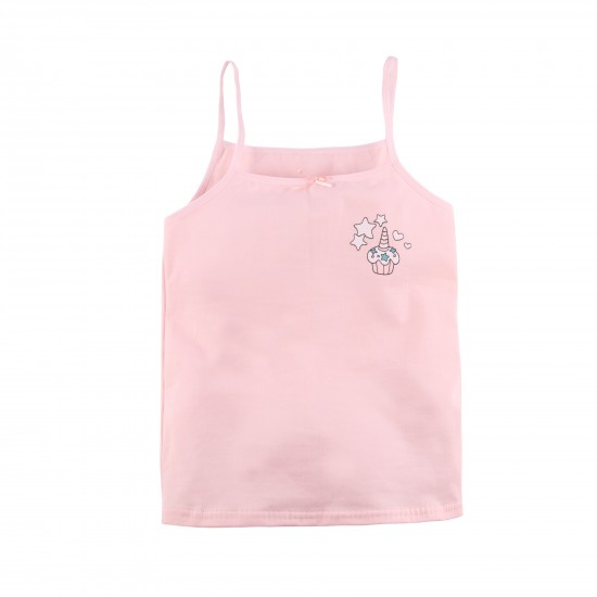 T-krekls meitenēm, persiku krāsā