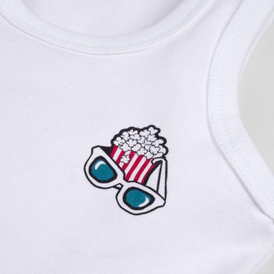 T-krekls Funny zēnam, balts