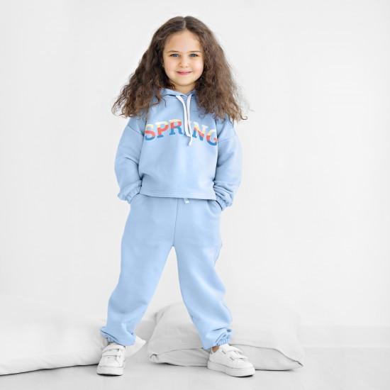 Sporta bikses meitenēm, zilas