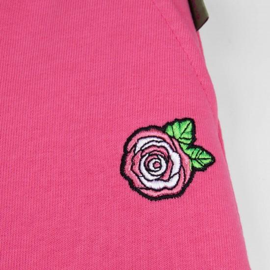Bikses apgrieztas meitenēm, rozā