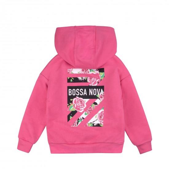 Jaka ar kapuci meitenei, rozā