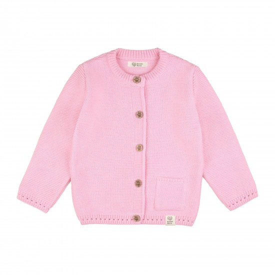 Adīta jaka zīdainim, rozā