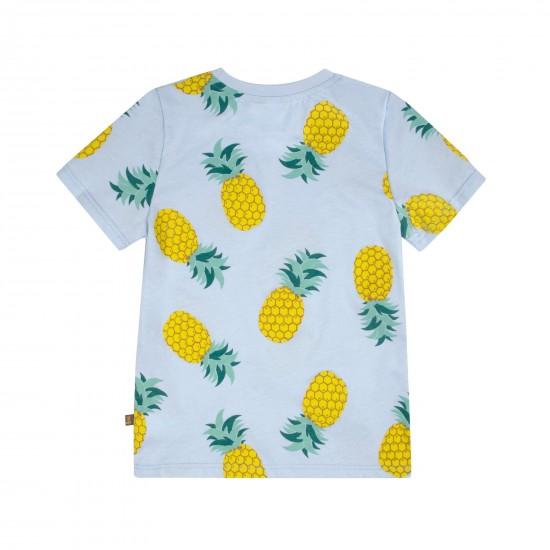 T-krekls zēnam ar apdruku Ananāsi