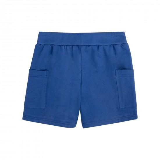 Šorti zēniem ar kabatām, zili