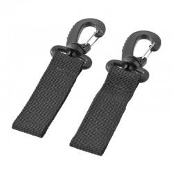 Hooks for maternity bag