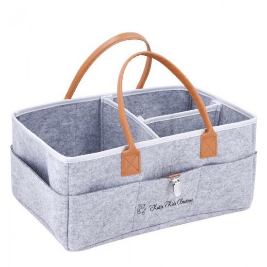 Bērnu piederumu soma ar kabatām
