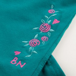 PANTS WITH EMBROIDERY