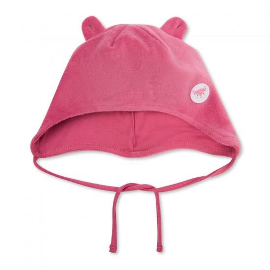 Cepure meitenēm velūra rozā