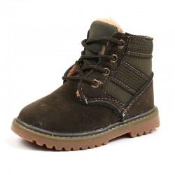 Boots warmed khaki