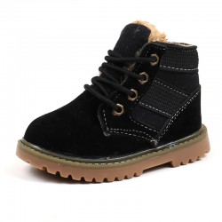 Boots warmed black