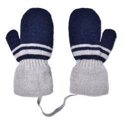 Mittens for boy blue