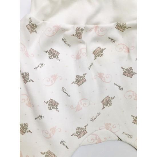 Biksītes zīdainim rozā apdruka