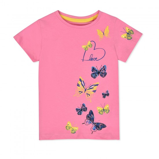 T-krekls meitenēm Tauriņi