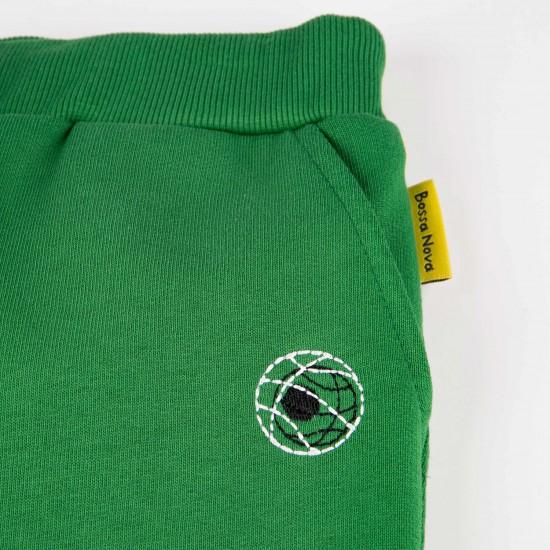 Pants for boy, green