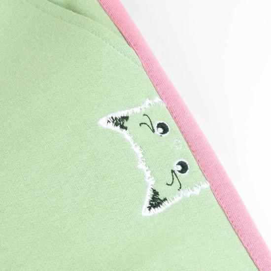 Bikses Kitty meitenēm, zaļas